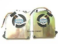노트북 냉각 패드 MSI GS60 쿨러 PAAD06015SL 용 CPU GPU 팬