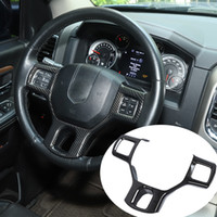 ABS Car Steering Wheel Trim Panel Dcoration for Dodge RAM 15...