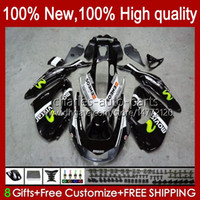 Body pour Yamaha Thunderace YZF1000R YZF-1000R 96 97 99 99 00 01 96HC.14 YZF 1000R MOVISTAR BLK NOUVEAU 02 03 04 05 06 07 1996 1997 2007 Carénage