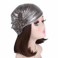 Этническая одежда женщина Hijabs Tabban Head Cap Cap Hat Beanie женские волосы аксессуары для волос мусульманский шарф убыток1