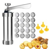 Hornear herramientas manuales Sellos galleta de la galleta de prensa Conjunto Decoración de Pasteles herramientas del fabricante