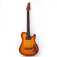 Neues Design stille akustische Gitarre portable Reisen in Wirkung freies Verschiffen gebaut