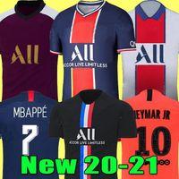 Paris PSG Neymar Jr 축구 유니폼 드 Maillots 19 20 21 축구 유니폼 2019 2020 2021 MBAPPE ICARDI 4 셔츠 남자 아이 세트는 Camisa의 camisetas을 타이츠