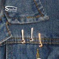 Dropshipping 3 цвета Мини кофе Ложка Брошь Детские Мерные Ложки Штыри кнопки значка джинсовой куртки нагрудные Pin оптовой продажи ювелирных изделий V0eX #