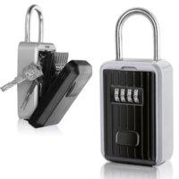 Пароль Box Box Открытый Ключ Безопасный Блокировка Коробка Украшения Цифровой Код Клавиши для хранения Водонепроницаемый Пароль Блокировка Чехол Нет необходимости устанавливать
