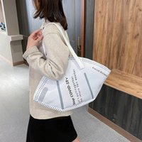 Borse casual casual da donna Borse di grandi dimensioni Borse di grande capacità 2021 Nuove borse a tracolla maschera Hobos Borsa a tracolla Fashion Fashion Trendy Ladies Shopper Bag