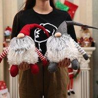 Regalo peluche svedese Tomte Decorazioni di Natale Babbo Natale scandinavo peluche di Natale Gnome peluche di compleanno di Natale del DHL Ship HH9 255 Y5vS #