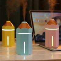 Difusores de óleo criativo dos difusores do lápis criativo 230ml Difusor de óleo do aroma do ar ultrassônico com luz da noite para a casa da névoa usb