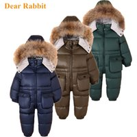 - 30 Russian kids Winter Snowsuit Children Clothing suit boy ...