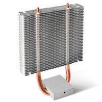 Ordinateur de refroidissement pour ordinateur portable Chipset Chipset HeartSet Leurf pour North Bridge Ventilateur DIY Metal Refroidisseur de bureau PC Ordinateur 86x34x11