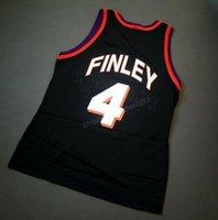 Cheap Custom Retro # 4 Michael Finley Meister College Basketball-Jersey-Männer Alle genähtes irgendeine Größe 2XS-3XL 4XL 5XL Name oder Nummer Schiff frei