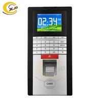 Fingerabdruck-Zugangskontrolle XJQ Kostenlose Software biometrische Kennwortkennwort-Anerkennung und Zeitbetreuungsgerät Realand F131s