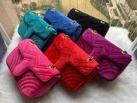 Venda quente Moda Bolsas De Ombro Mulheres Camurça De Veludo Cadeia Crossbody Bag Bolsas Designer Bolsa Feminina Bolsa