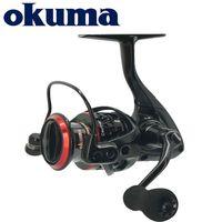 Okuma Ceymar Spinning Rolle 7 + 1BB Max 15kg Leistung Ultimate Smoothness Angelrolle Korrosionsbeständige Graphit-Body Fishing Rollen 201126
