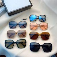 2020 yeni karamel polarize kadın güneş gözlüğü yedi renk isteğe bağlı tasarımcı güneş gözlüğü kutusu ile 7427086