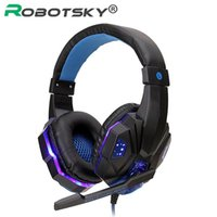 Luminous Gaming Headset Professional Wired Game Headphone De...