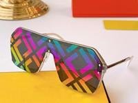 Carta Sun Fashion0770 Sqaure Sunglasses Mulheres Oversized Um Pieces Óculos Óculos Anti-UV Goggles Ladies Shades Óculos com caixa