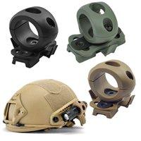 Airsoft Gear Gear Casco Accessorio Portachiavi Tactical Casco Fast Helmet Ala Mount Side Mount Mount 1 / 1.2 pollici / 30mm Torcia elettrica NO01-101