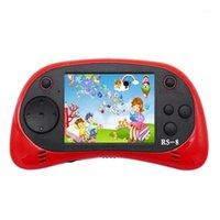 Joueur de jeu portable pour enfants, RS-8 rétro 16 bits HD HD Jeu intégré 42 2,5 pouces Console1