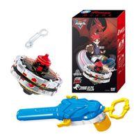 Classic Infinity Nado 5 Gyro Toy Métal Magnétique Multiplex Gyro Combinaison Combinaison Battle Spinning Top avec lanceur pour cadeau de Noël LJ201216