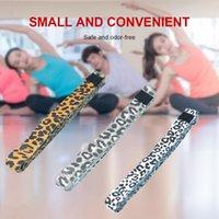 Leopar Desen Kalça Uzun Direnç Bantları Booty Bacak Egzersiz Fitness Spor Yoga Germe Eğitim Egzersiz için Elastik Bantlar