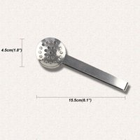 Stainless Steel Tea Sugar Clip Tweezer Mini Clamp Tong Clips Coffee Ice Cube Little Tea Clips Multifunctional Kitchen Bar Tools GWE6712
