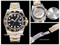 Ar Maker Najlepsza Jakość Cal.3186 Ruch 40mm 116713 18K owinięty złoto 904 stalowe ceramiczne mechaniczne automatyczne męskie zegarki męskie zegarki