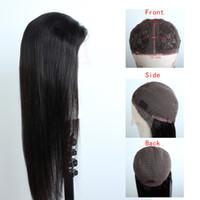 Hint Dantel Ön İnsan Saç Peruk 13x1x4 T Parçası Dantel Peruk Düz Derin Dalga Afro Kinky Kıvırcık İnsan Saç 26 inç Uzun Saç