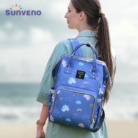 Sunveno Bage Bag Качество Большой Емкости Детская Подвесная Сумка Путешествия Доска рюкзак Коляска Организатор Детская Уход Сумка для Мамы Действующая Gear 201120