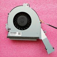 Nuevo ventilador original para HP Pavilion All in One-24 B-24 B223W 24 B009 refrigerador de la CPU ventilador de refrigeración 863804-001 NFB88C05M-001 5V 0.5A