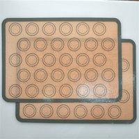 Wholesale Форма для выпечки Настольный коврик Силиконовые коврики Выпечки Выпечки Линер Лучший силиконовый печь коврик теплоизоляционная прокладка для выпечки печенье BC 220 G2