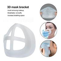 Bracket de máscara 3D Batom Proteção de proteção Rails Inner Pad Melhorando Respiração suavemente Cool Face Holder DHL Free