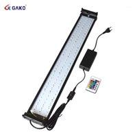 수족관 LED 조명 Dimmable 색상으로 RGB LED 빛 75 ~ 95cm 물고기 Tank1에 대 한 원격 제어 18W 적합
