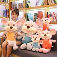 Alta calidad Lindo ratón ratón peluche juguete peluche juguetes juguetes niños juguetes Regalos de Navidad decoración del hogar