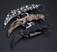 새로운 FA-30 FA30 발톱 나이프 Karambit 클로 미니 클로 캠핑 접는 생존 칼 크리스마스 선물 나이프 1pcs