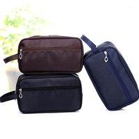 أكياس التجميل الحالات 2021 الرجال النساء غسل حقيبة القبول حزمة السفر الحقيبة بسيطة مقاومة للماء أطقم الزينة 6023151