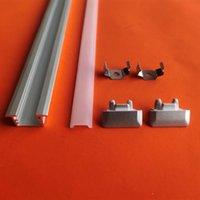 Бесплатная доставка Горячая продажа утопленный светодиодный алюминиевый профиль U-образным светодиодным алюминиевым каналом для стены алюминиевые экструзии профилей