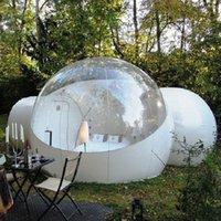 Gonflable Bubble House Hotel 3M 2 personnes Pump Gratuit Pompe en plein air Tente de camping en plein air Camping Camping Courtyard Camping Livraison Gratuite