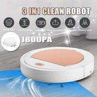 جديد 3 في 1 Smart Sweeper Robot House دائم طابق كهربائي تنظيف الروبوتات مكنسة كهربائية 1800PA Y200320