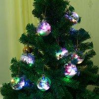 Novas Idéias para 2020 Snowflake Transparente Celebration Christmas Ball Decoration Christmas Ball LED do Evento Detalhes no T3I51308