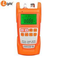Faseroptikausrüstung AUA-9A Optisches Leistungsmesser Roter Lichtquelle Ein Maschinenfehler-Fehler-Detektor-Stift 1MW / 10 MW / 20mw / 30mw