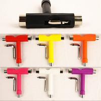 Junta de herramientas de plástico de la mano del patín Accesorios Junta de rodamiento de hierro Llave del multicolor Llave tubular multifuncional G2 2 5GY