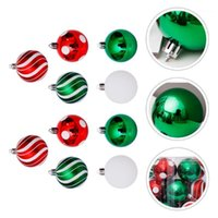 30pcs Christmas Tree Decoration Colored Drawing Ball Home De...