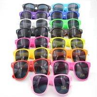 DHL100pcs Fashion UV 400 Sonnenbrille Frauen und Männer Erwachsenen Retro-Sonnenbrille Retro- Nichtmainstream Unisex Vintage Retro-Sonnenbrille 11 Farben