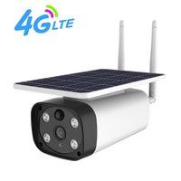 Câmeras shiwojia 4g câmera solar ao ar livre 1080p wireless ip ir noite visão de duas vias áudio à prova d'água segurança segurança cctv