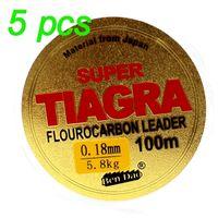100 m Fluorkohlenstoff-beschichtete Angelschnur Superstarke Monofilament-Qualitäts-Fluorkohlenstoff-Salzwasser-Karpfen-Angelschnur 201228