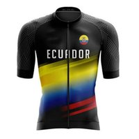2021 NEW Bright Ecuador Top Quality Short Sleeve Cycling Jer...