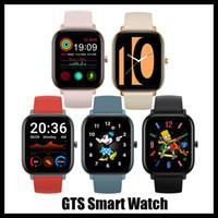 جديد GTS وصول smartwatch فتحة أندرويد الذكية ووتش لسامسونج و ios ابل اي فون سوار سوار بلوتوث ساعات دي إتش إل الحرة