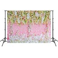 3D Gül Backdrop Bez Düğün Parti Dekorasyon Arka Plan Fotoğraf Sahne Simüle Bez Düğün Fotoğraf Stüdyosu HHA1044 Için 51 J2