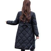 Abaixo mulheres parka parka mulher mulher jaqueta de inverno novo inverno acolchoado jaqueta casaco de grandes estaleiros senhora jaqueta M998 200930